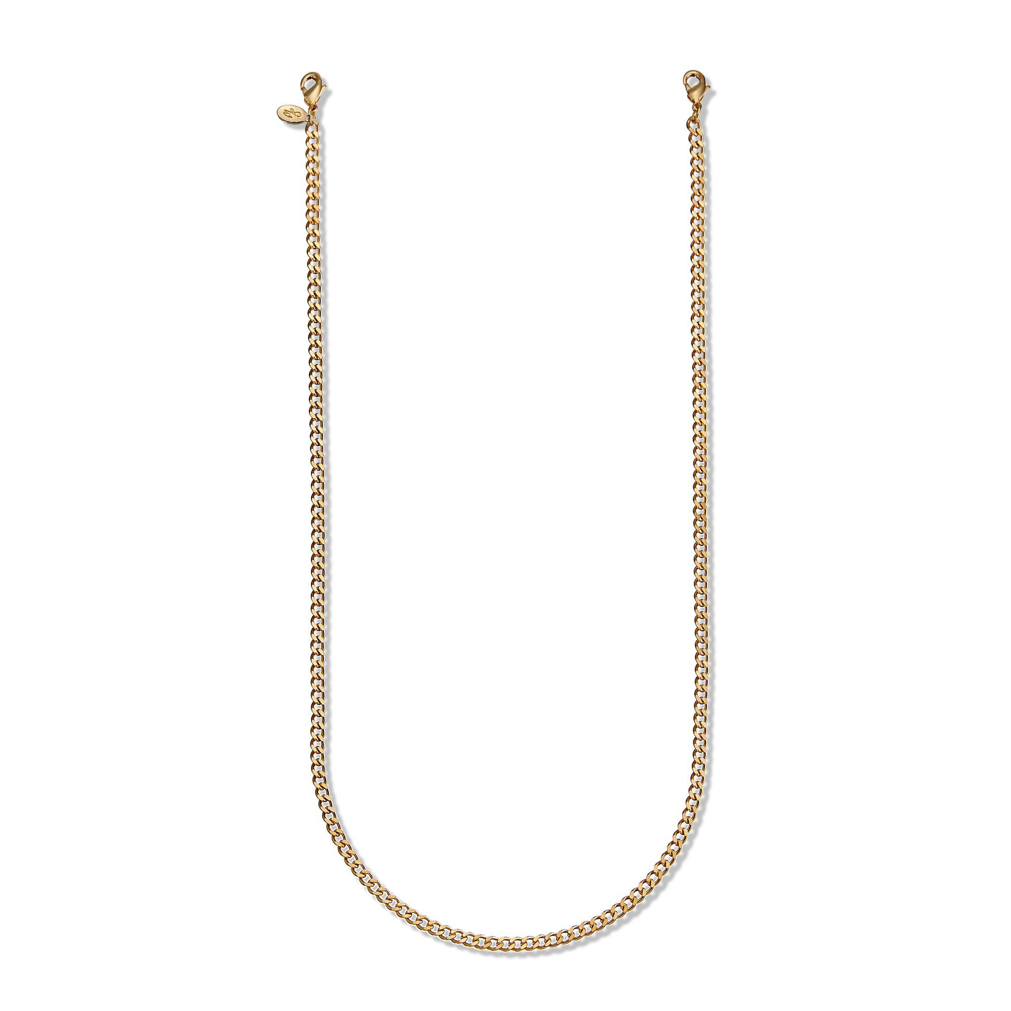 Second Wind Detachable Cuban Link Chain in Gold