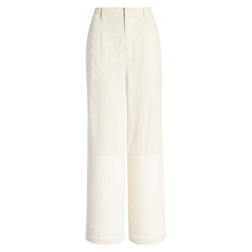 Wide Leg Linen Blend Stovepipe Pants ($49)