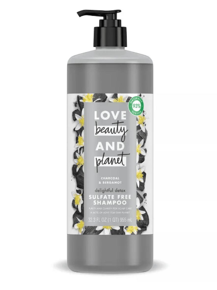 Sulfate-Free Charcoal & Bergamot Shampoo