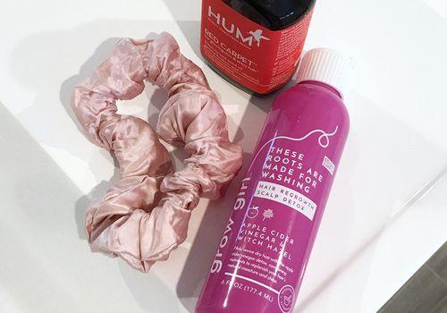 Hum Vitamins, Growth Girl, and Silk Hair Tie