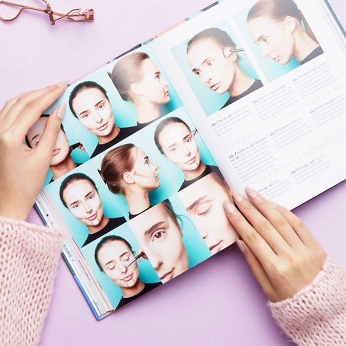 Best makeup books: spread inside Lisa Potter-Dixon's Makeup Manual
