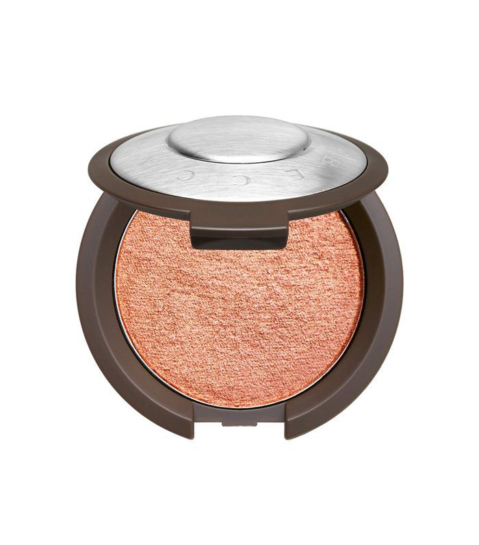 how to apply copper eyeshadow: Becca Shimmering Skin Perfector Luminous Blush