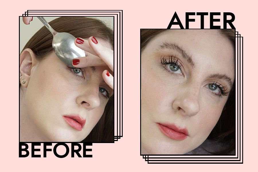 How to Curl Your Eyelashes With a Spoon: Step-by-Step Guide