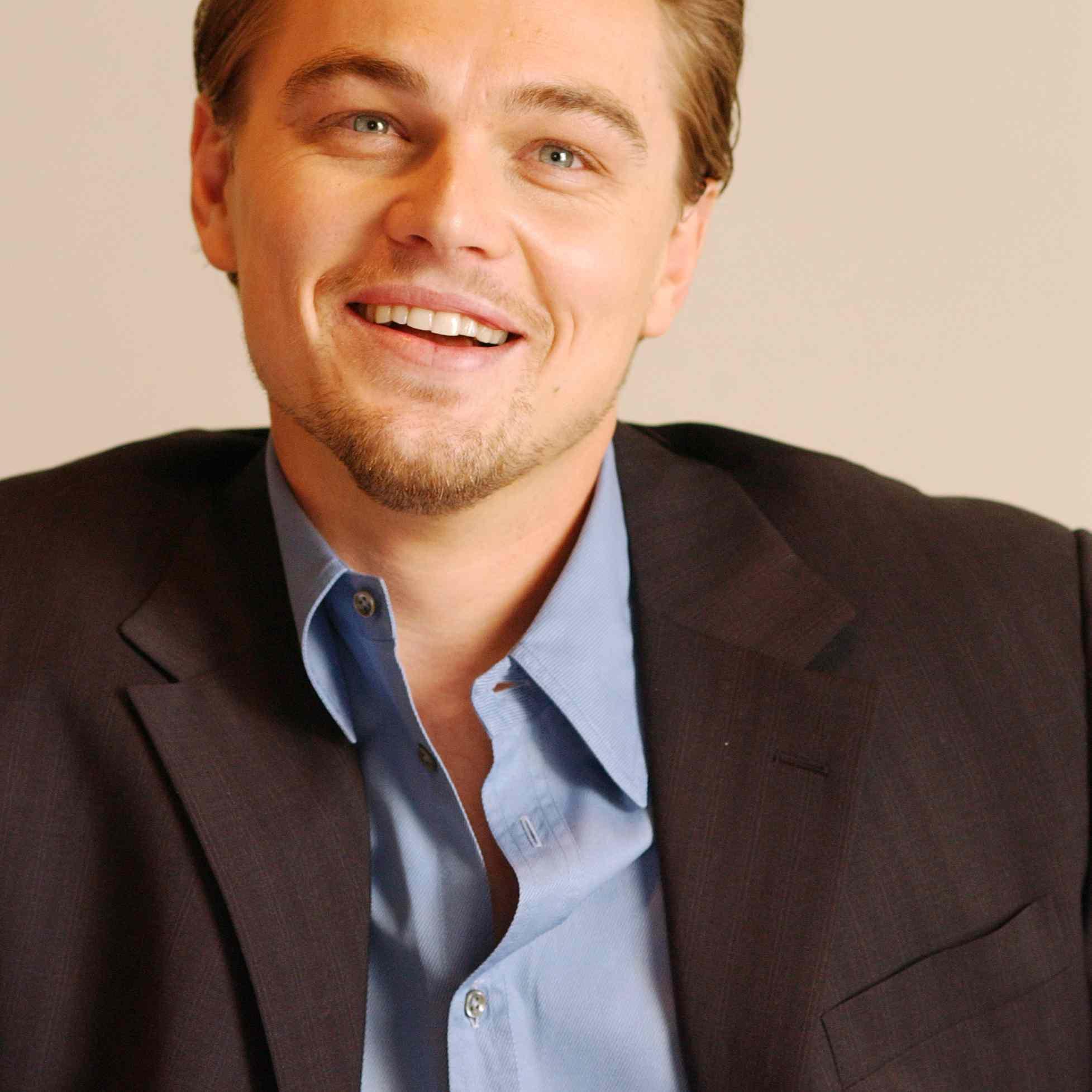 Leonardo DiCaprio Hair 2004