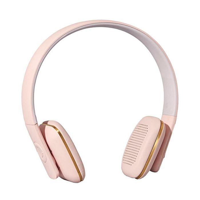 Oliver Bonas Dusty Pink Wireless Headset