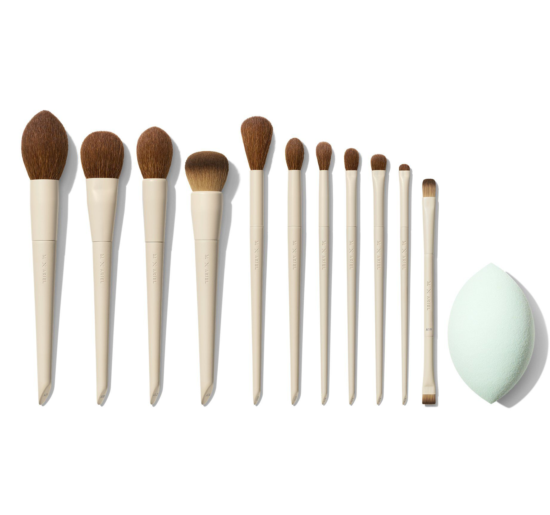 Morphe x Ariel 12-Piece Brush Set