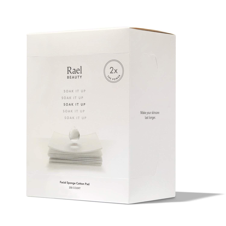 Rael Beauty Soak It Up Facial Sponge Cotton Pads