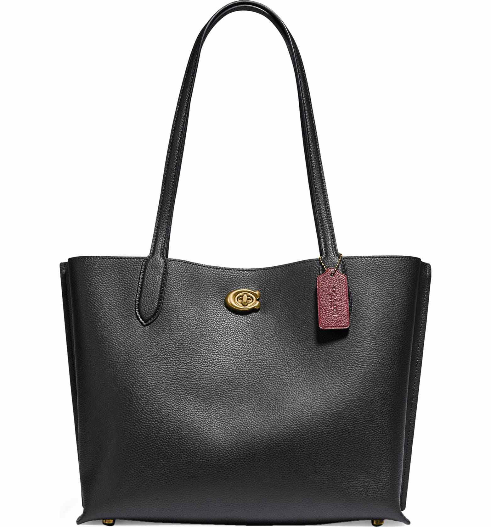 Coach Willow Leather Tote