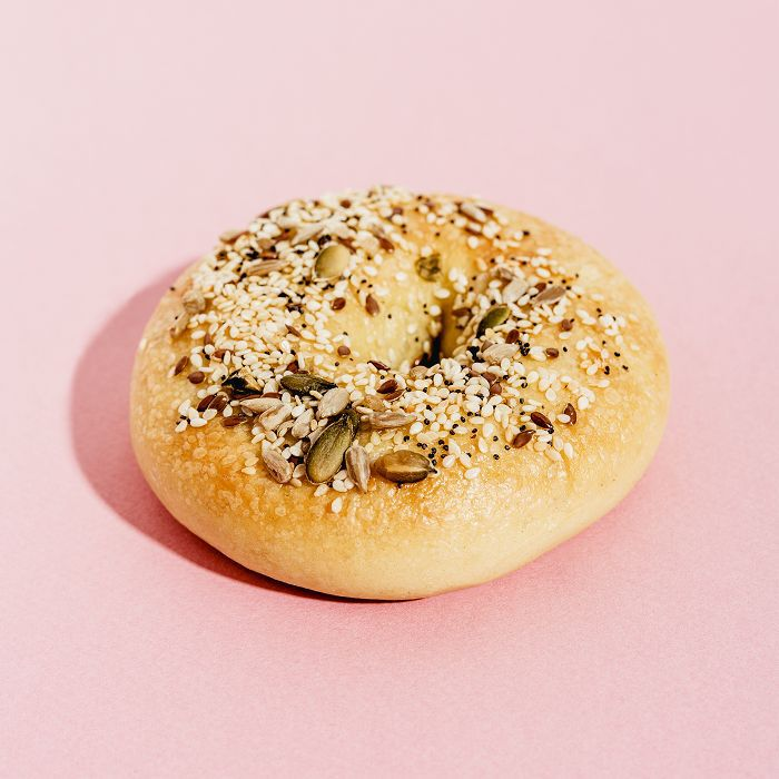 seed cycling: Everything bagel