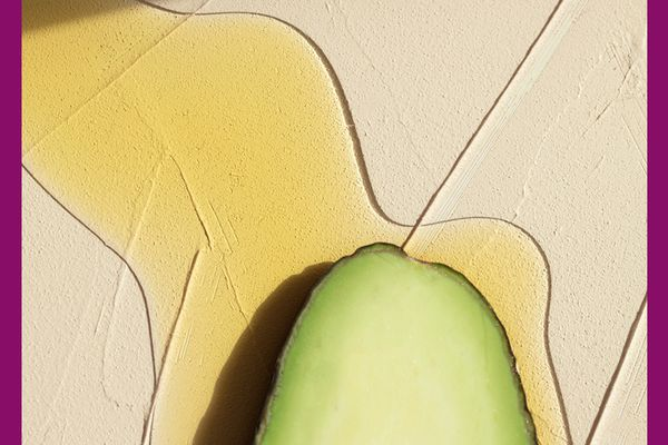 avocado and hair oil