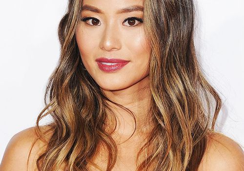 Jamie Chung- Medium Brown Hair
