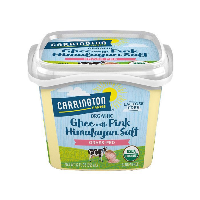Carrington Farms Ghee with Himalayan Pink Salt