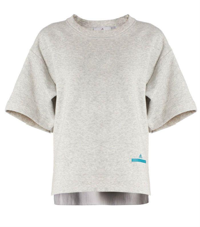 yoga for beginners: Adidas by Stella McCartney Essential zip-front hooded sweatshirt