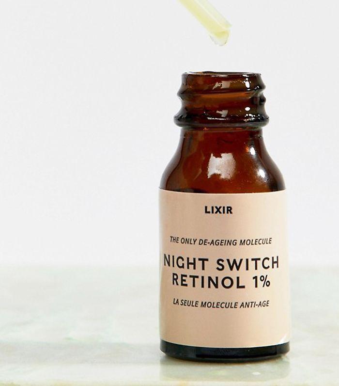 best beauty brands asos: Lixir Night Switch Retinol 1%