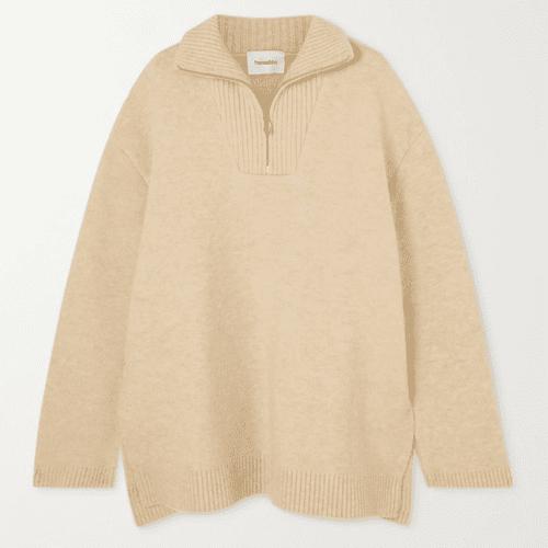 Nanushka Zuma Oversized Knitted Sweater