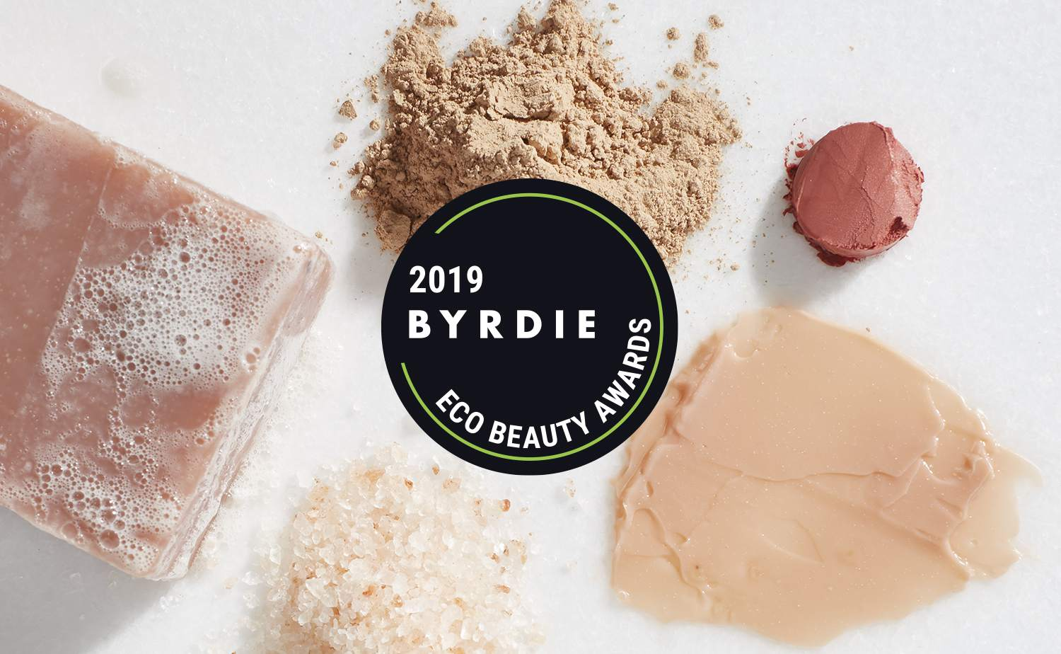 2019 Byrdie Eco Beauty Awards Graphic