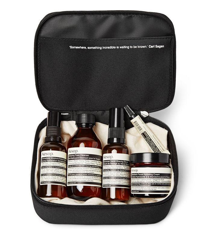 Beauty gifts for men: Aesop Dapper Gentleman Grooming Kit