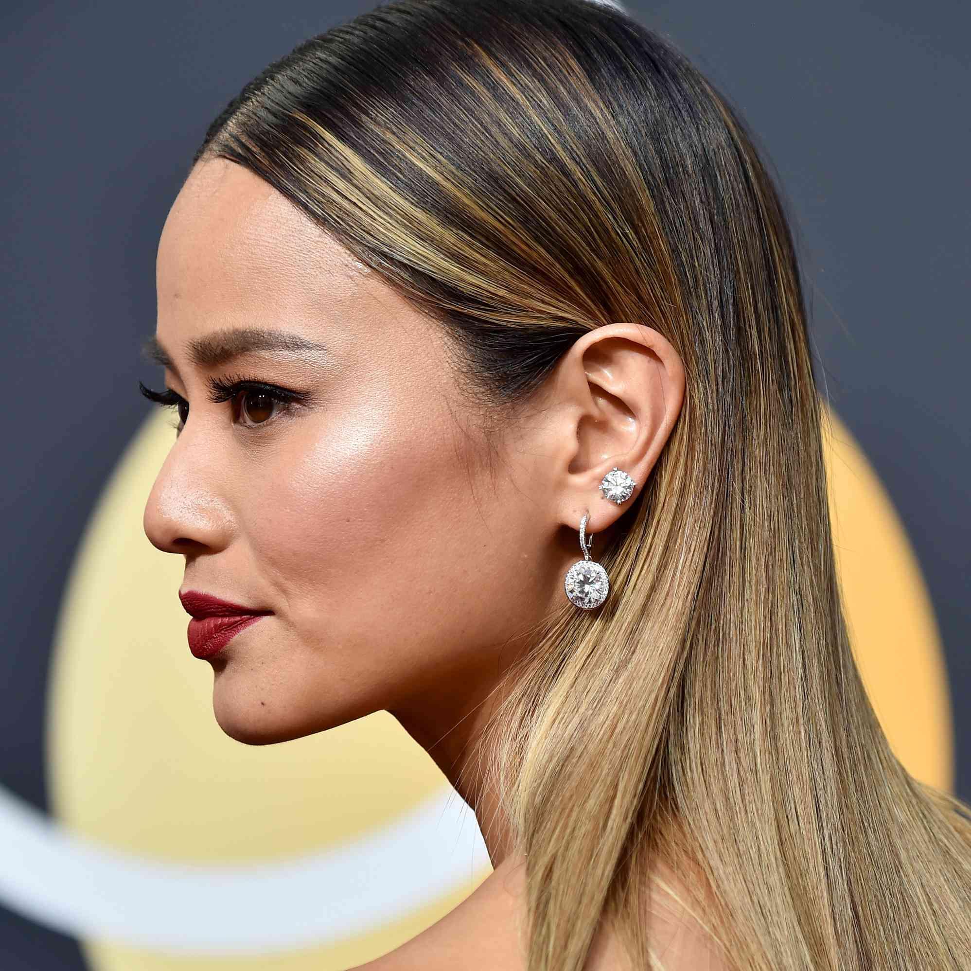 Brown Ombré Hair Jamie Chung