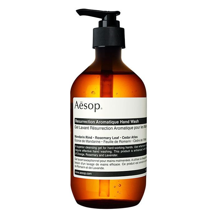 Eco-friendly beauty products: Aesop Resurrection Hand Wash