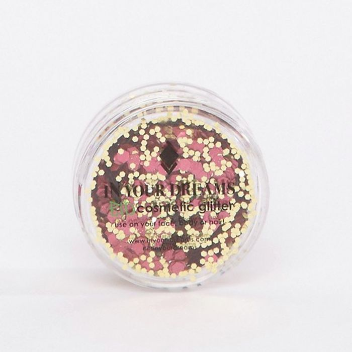 In Your Dreams Biodegradble Glitter in Pink and Gold