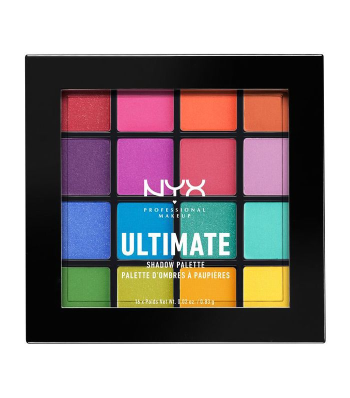 best bright eye shadow: NYX Professional Makeup Ultimate Shadow Palette, Brights