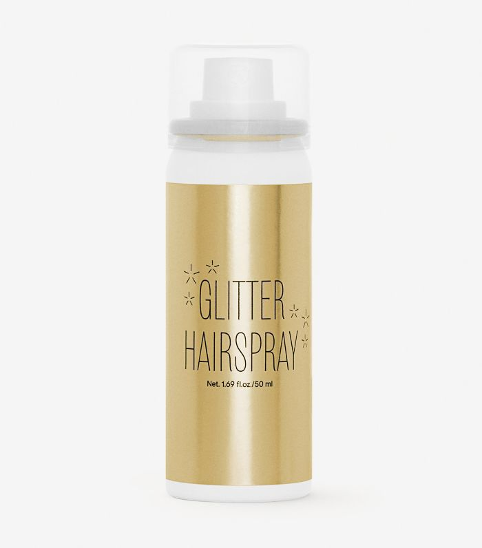 H&M Glitter Hairspray in Gold