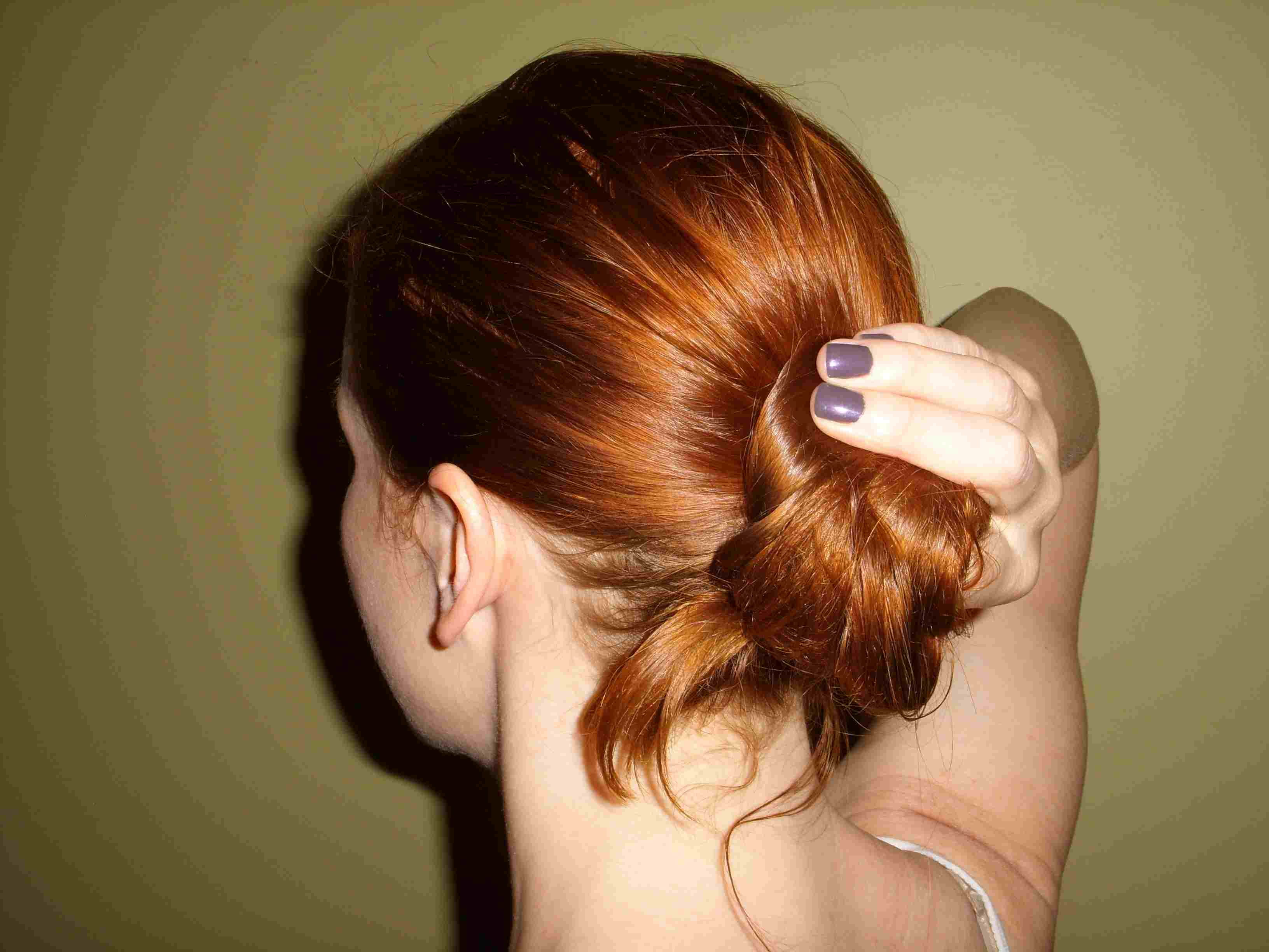 How To Use The Spin Pin To Create An Easy Updo