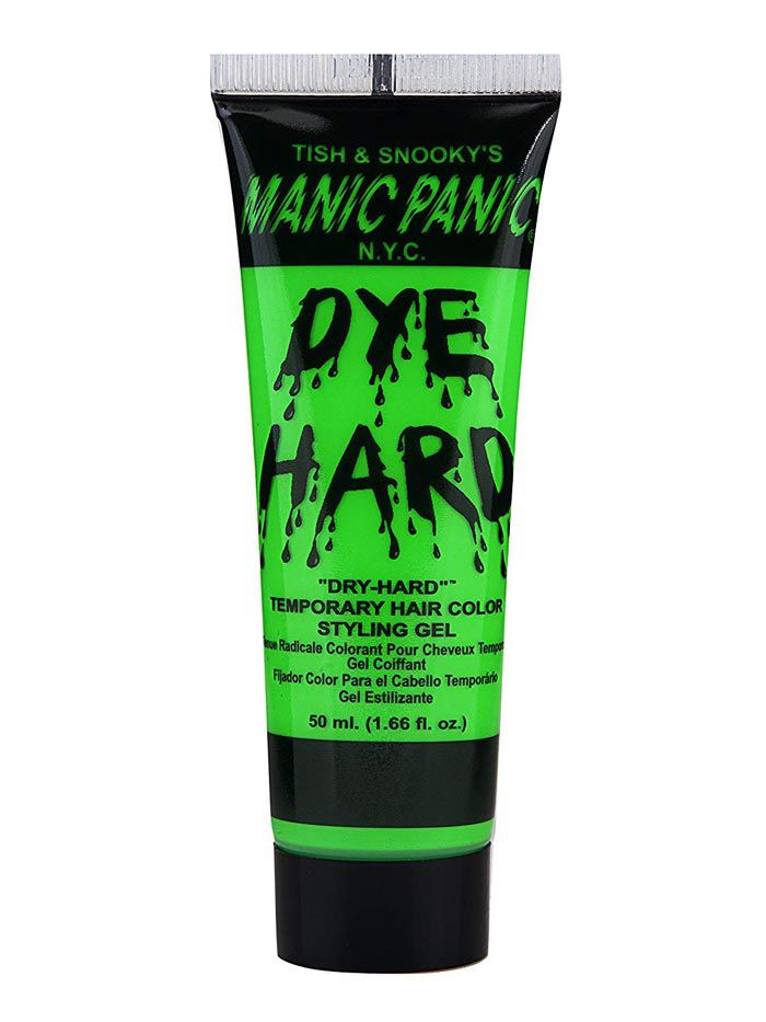 Manic Panic Dye Hard Temporary Hair Color Styling Gel