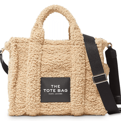 The Marc Jacobs Traveler Small Sherpa Tote