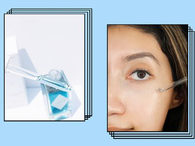 Herbivore Lapis Blue Oil in Use on Karla Ayala