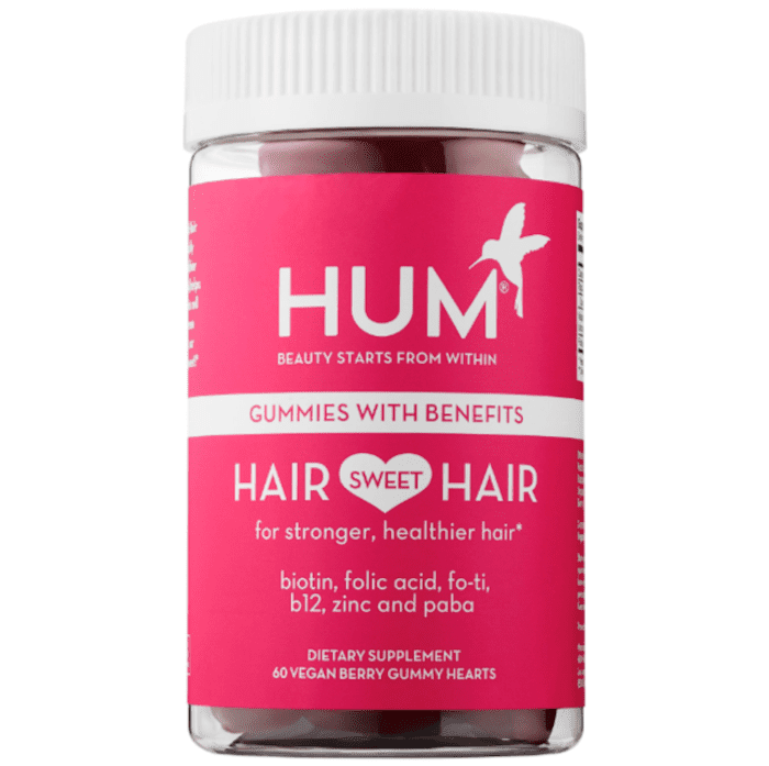 Hair Sweet Hair 60 Vegan berry gummy hearts