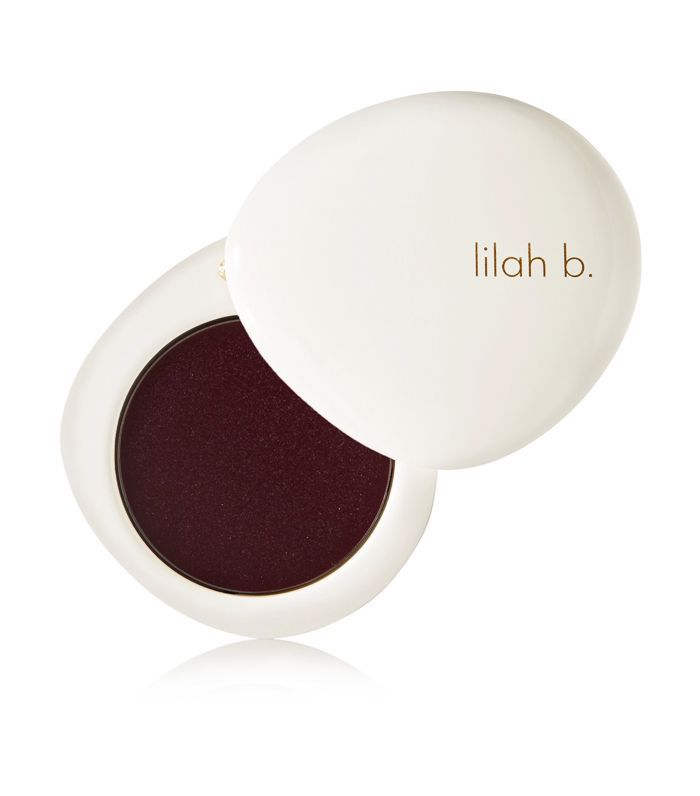 best dark red lipstick: Lilah b. Tinted Lip Balm in B.Savvy