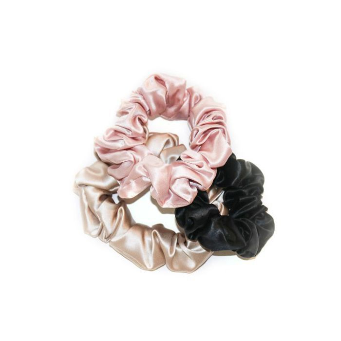 Pure Silk Scrunchie Set
