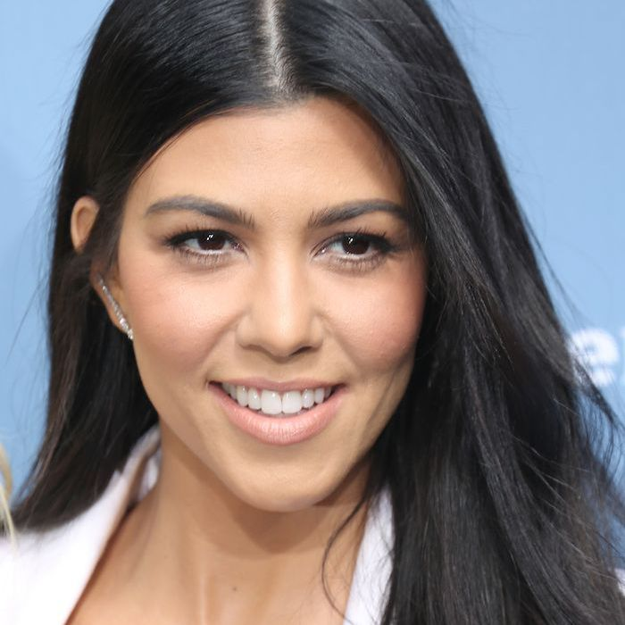 Kourtney Kardashian No-Makeup Makeup