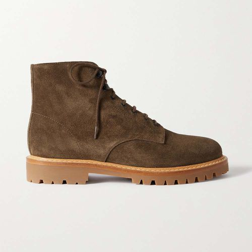 Suede Ankle Boots ($620)