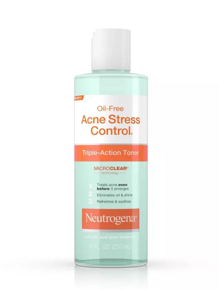 Oil-Free Acne Stress Control Toner