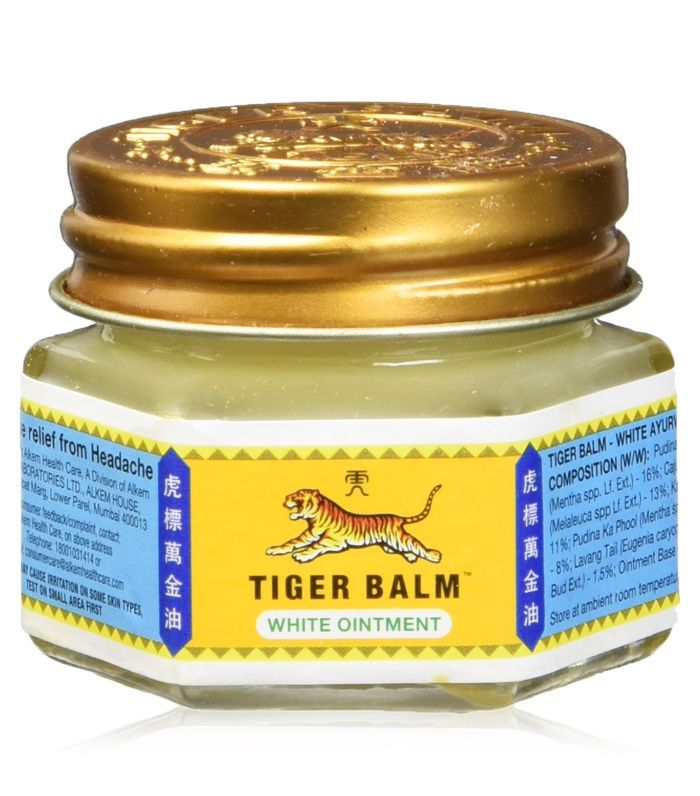 natural pain relief: Tiger Balm White Ointment