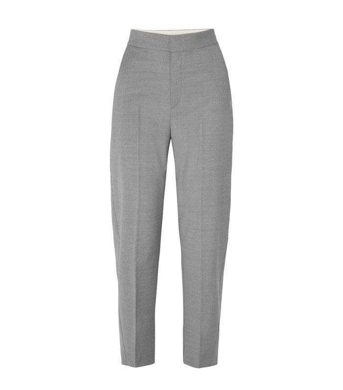 Noma Wool-blend Straight-leg Pants