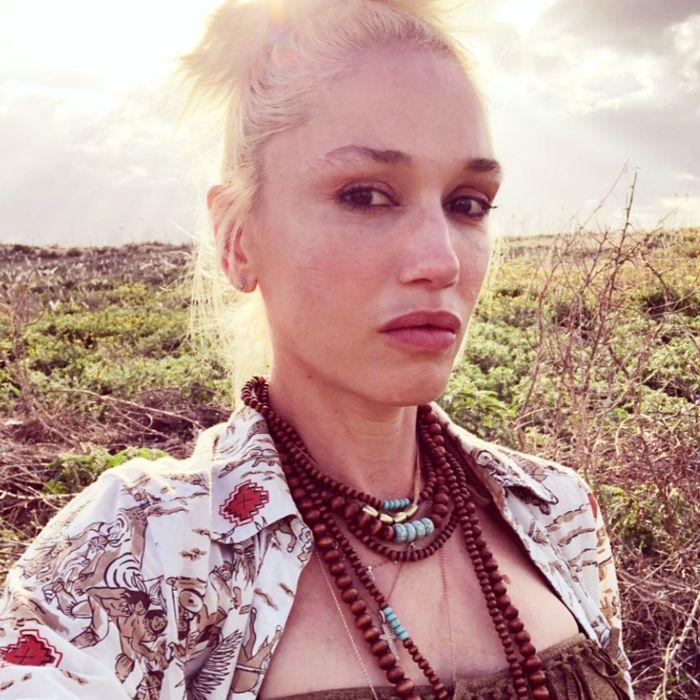 Gwen Stefani no-makeup makeup