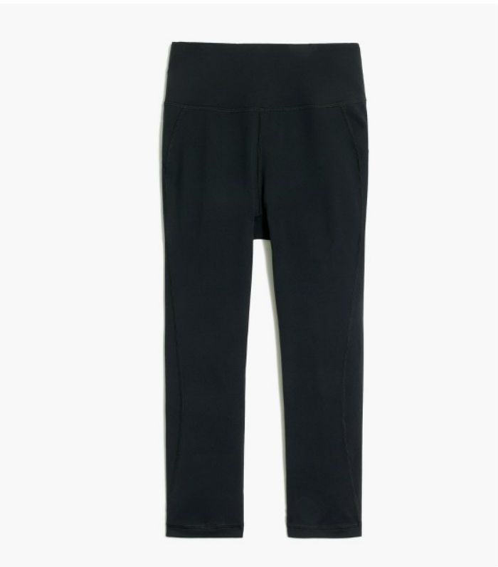 Fight belly fat: New Balance for J Crew High-Waisted Performance Crop Leggings