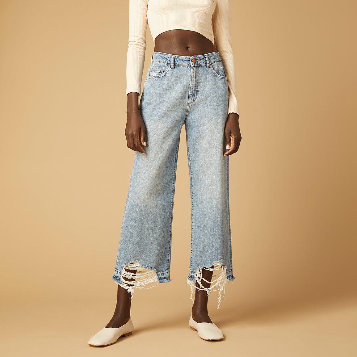 DL1961 Hepburn Wide Leg High Rise Vintage