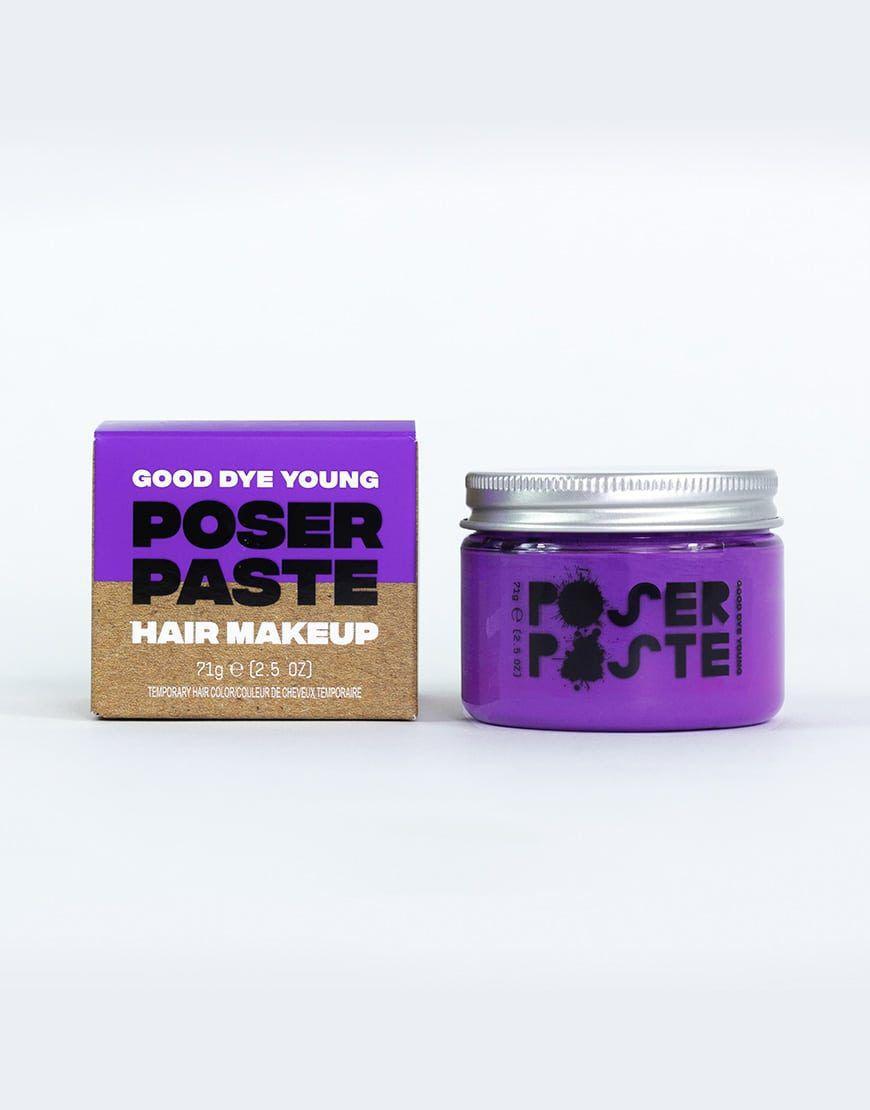 poser paste hair makeup