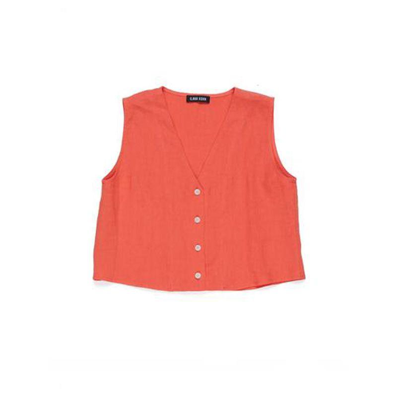 Audrey Crop Shirt