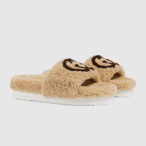 Gucci Slide Sandal with Interlocking G
