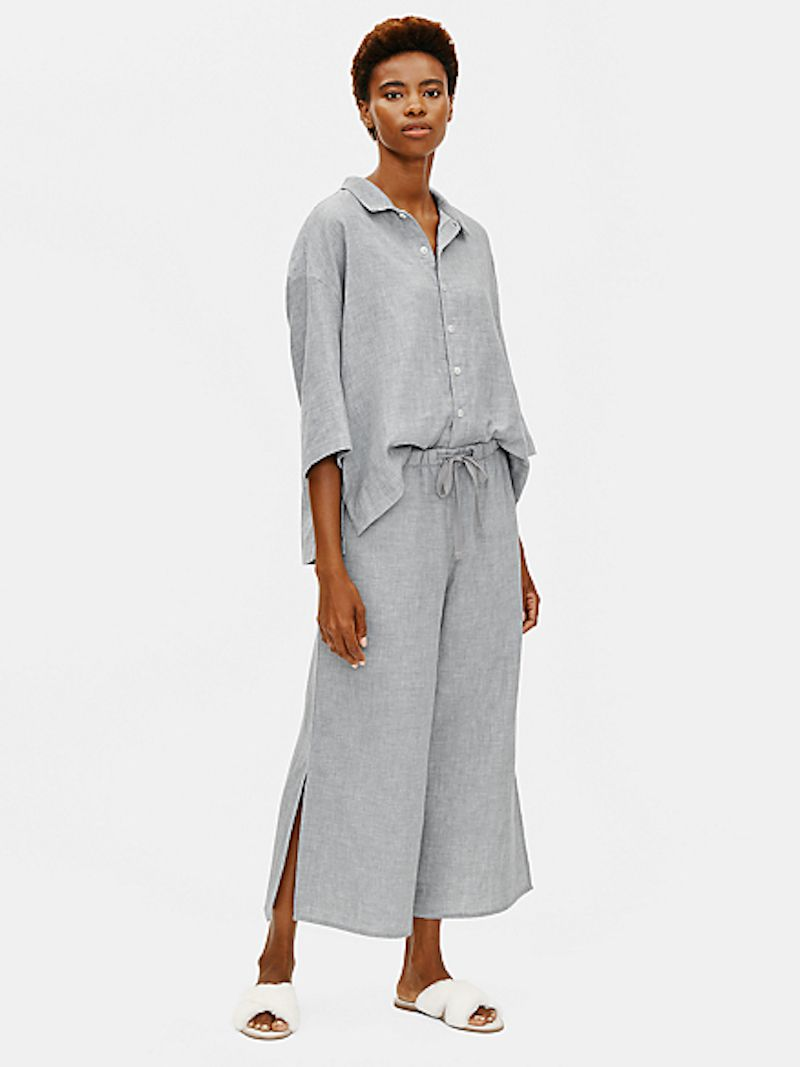Eileen Fisher Organic Cotton Doubleweave Pajamas