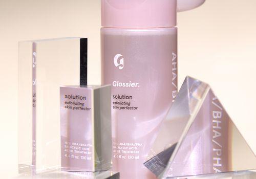 Glossier bottle of toner