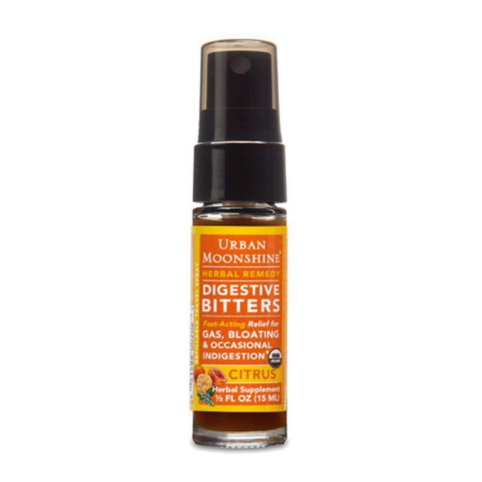 Urban Moonshine Organic Citrus Digestive Bitters Travel Spray