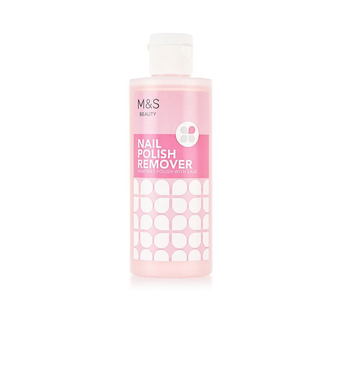 How to remove gel nail polish: Marks & Spencer Nail Polish Remover