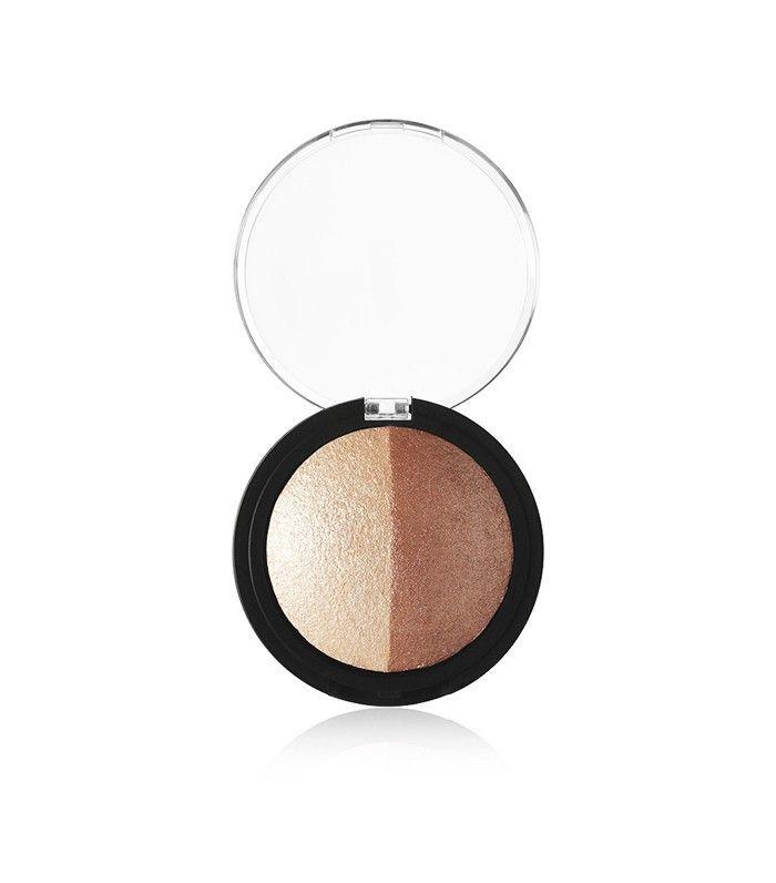 vegan makeup: e.l.f. Cosmetics Studio Baked Highlighter & Bronzer
