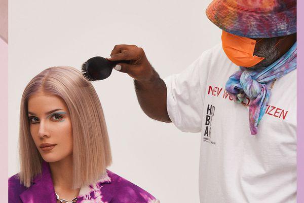 halsey hair and makeup